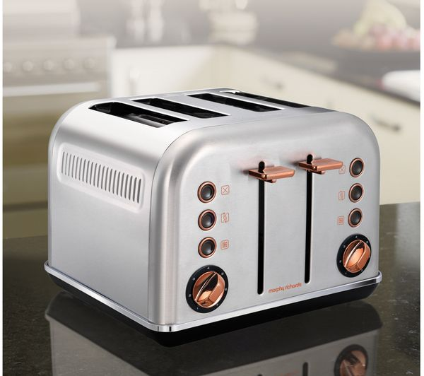 Buy Morphy Richards Accents 242105 4 Slice Toaster