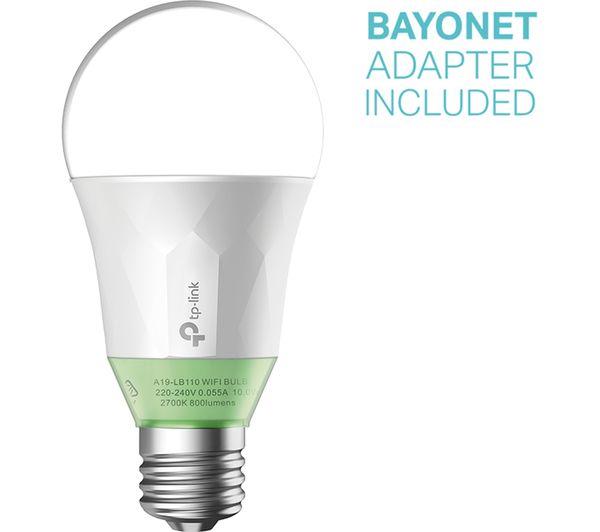 Buy Tp Link Lb110 Smart Wifi Led Bulb E27 With B22