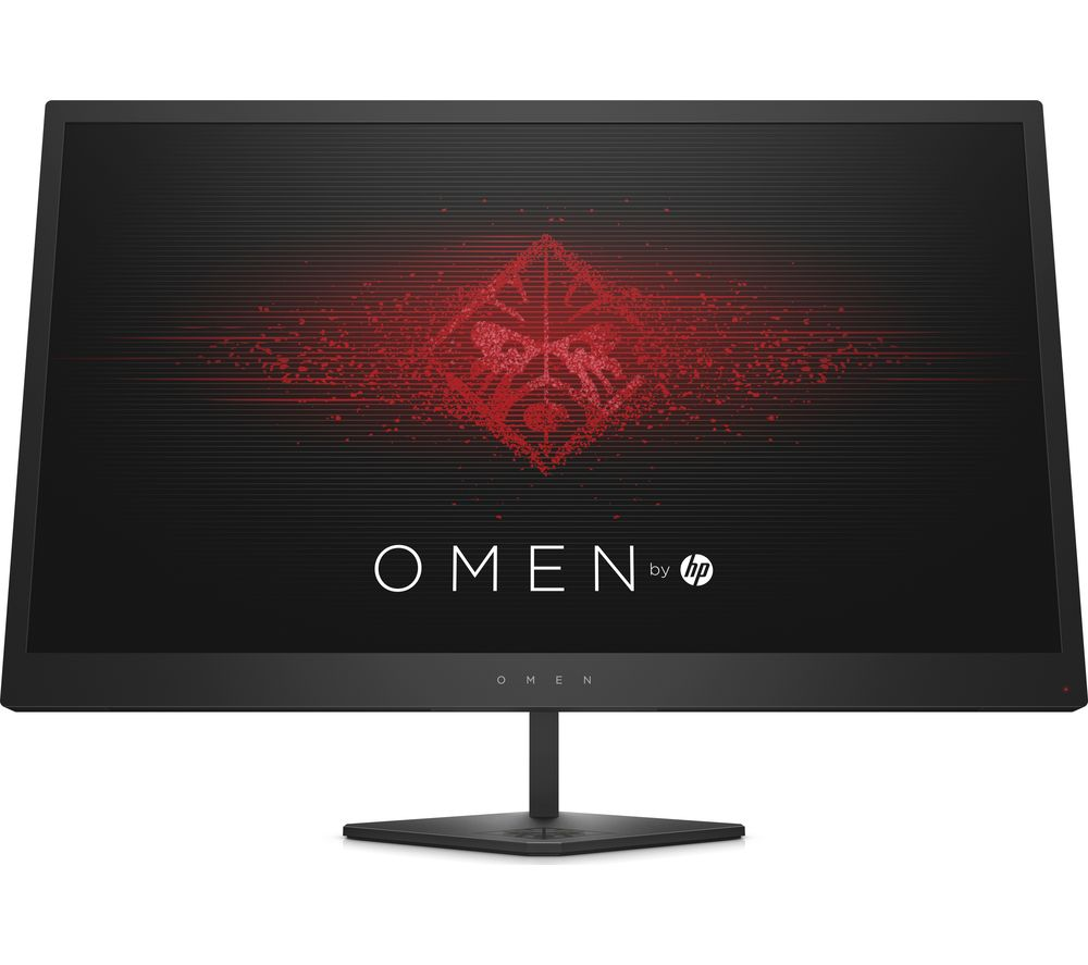 "Image of HP OMEN 25 24.5"" Full HD LED Gaming Monitor - Black, Black"