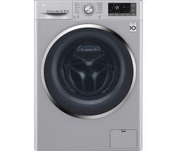 LG Titan FH4U2TDN2L 8 kg 1400 Spin Washing Machine - Silver