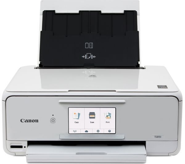 buy canon pixma ts8151 all in one wireless inkjet printer cli 581 cyan magenta yellow. Black Bedroom Furniture Sets. Home Design Ideas