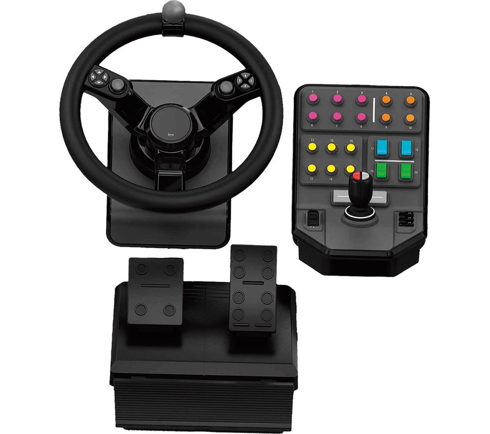 Compare prices for Logitech G Saitek Farm Simulator Controller