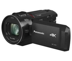 PANASONIC HC-VX1EB-K 4K Ultra HD Camcorder - Black