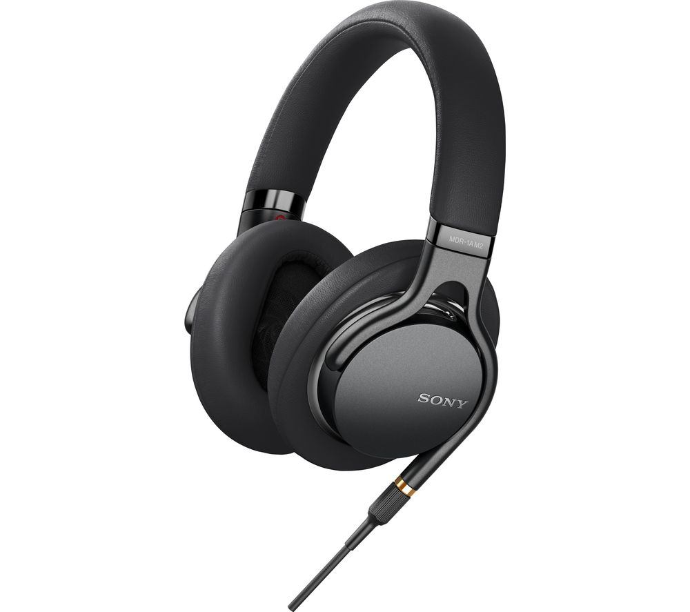 SONY MDR-1AM2B Headphones - Black