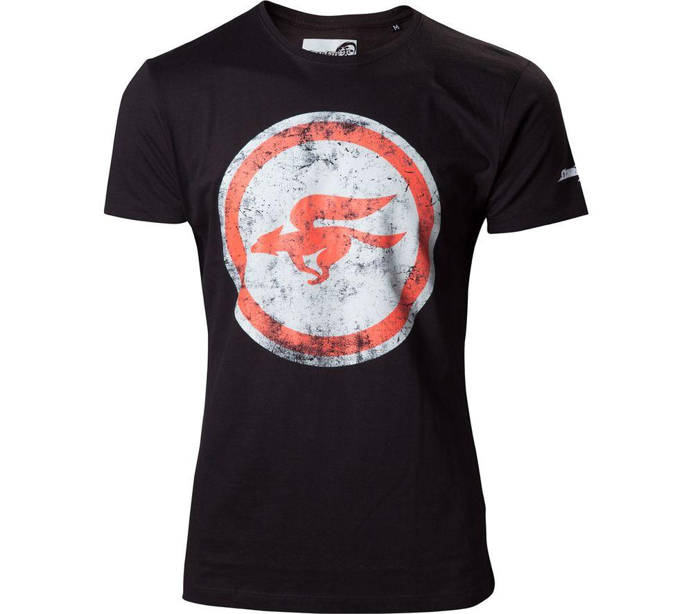 NINTENDO Starfox T-Shirt - Large, Black