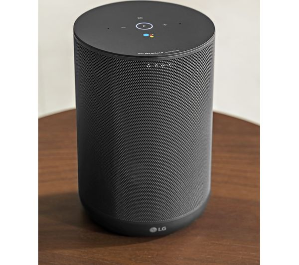 Buy Lg Thinq Wk7 Voice Controlled Speaker Black Free