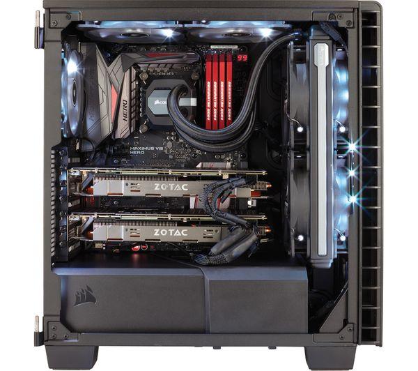 CORSAIR Carbide Clear 400 C ATX Mid-Tower PC Case
