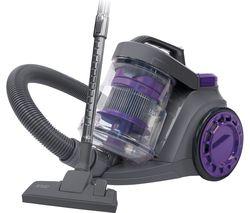 RUSSELL HOBBS RHCV3511 Cylinder Bagless Vacuum Cleaner - Purple & Grey