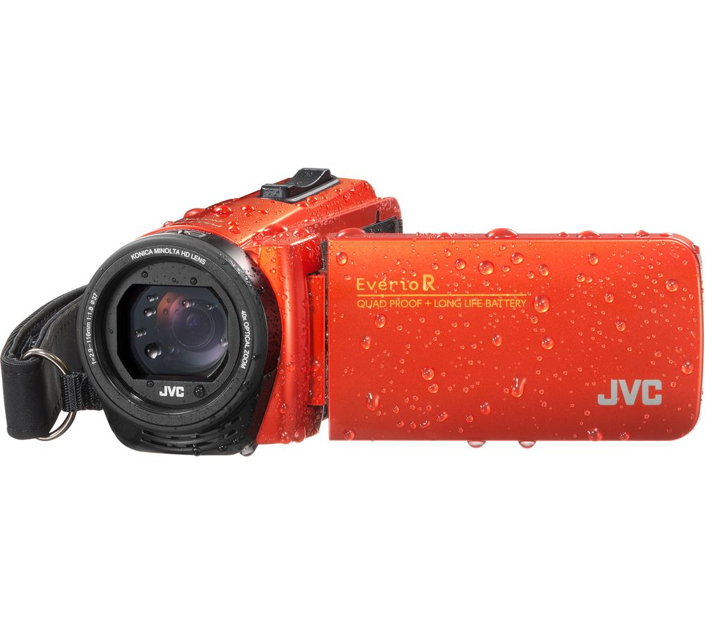 JVC GZ-R495DEK Camcorder - Orange