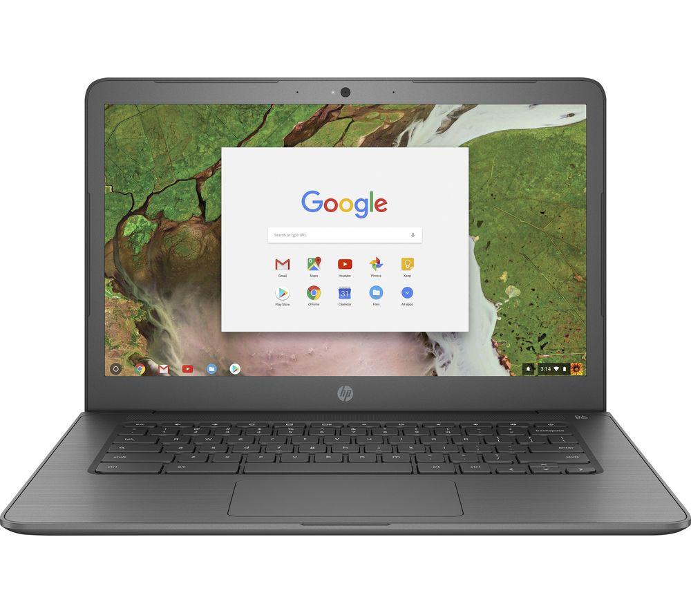 "HP 14-ca050sa 14"" Intel® Celeron™ Chromebook - 32 GB eMMC, Grey"