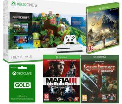 MICROSOFT Xbox One S with Minecraft