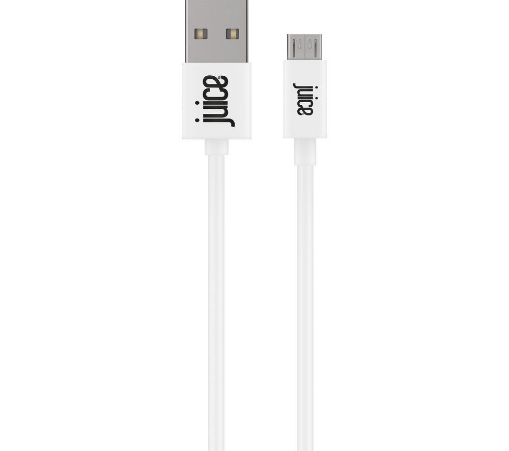 JUICE XXL Micro USB Cable - 3 m, White