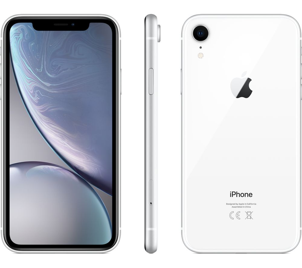 APPLE iPhone XR - 128 GB, White