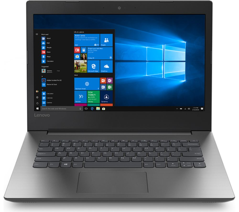 "LENOVO 330-14AST 14"" AMD A4 Laptop - 1 TB HDD, Black"