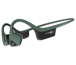 AFTERSHOKZ Trekz Air Wireless Bluetooth Headphones - Forest Green