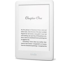 "AMAZON KINDLE 6"" eReader (2019) - 4 GB, White"