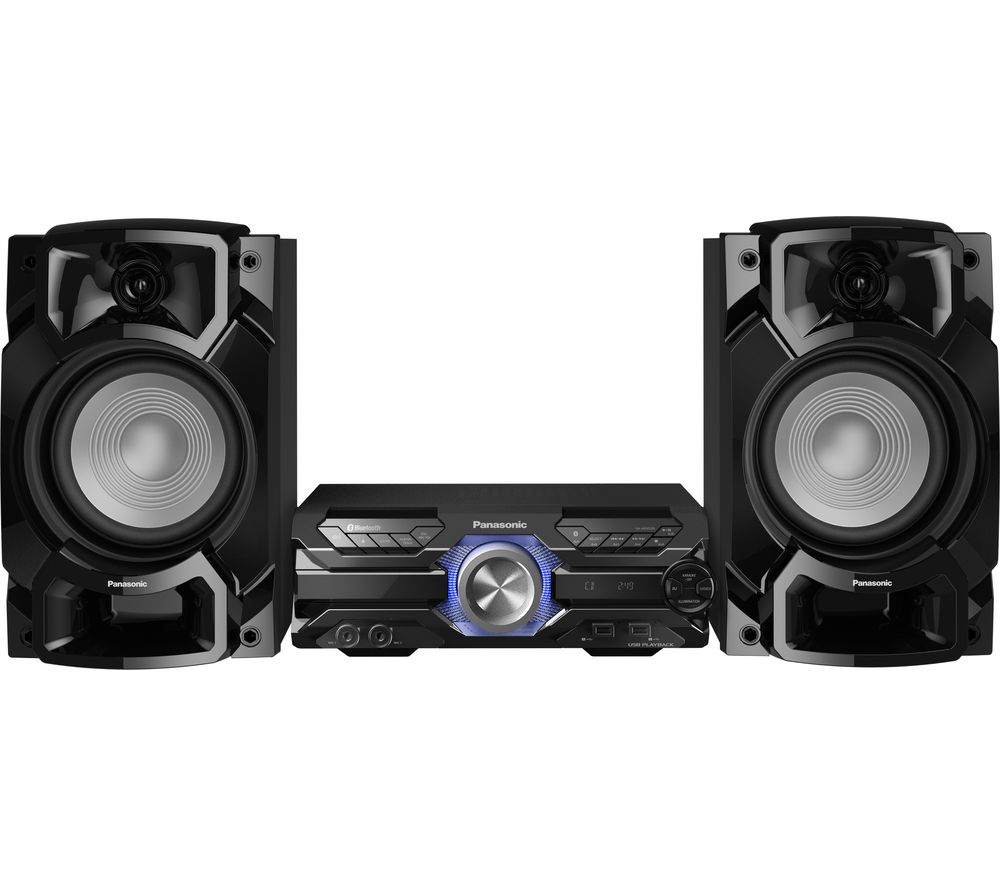 PANASONIC SC-AKX520E-K Bluetooth Megasound Party Hi-Fi System - Black