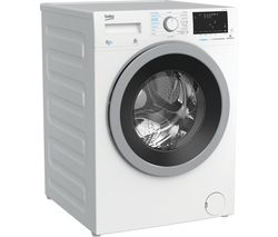 BEKO Pro WDX850130W Bluetooth 8 kg Washer Dryer - White