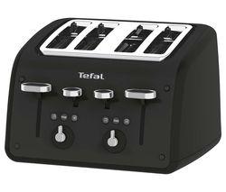 TEFAL Retra TF700N40 4-Slice Toaster - Matt Black