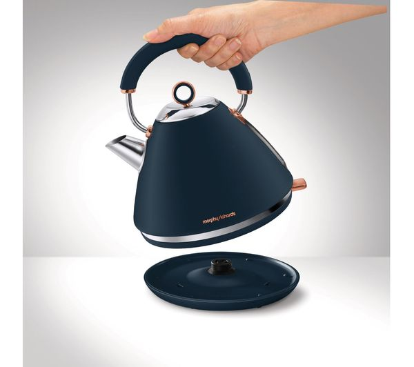 MORPHY RICHARDS BLUE Accents Kettle