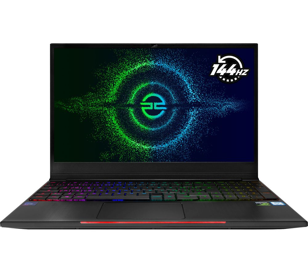 "PC SPECIALIST Recoil III GT15 15.6"" Gaming Laptop - Intel® Core™ i7, GTX 1660, 1 TB HDD & 256 GB SSD"