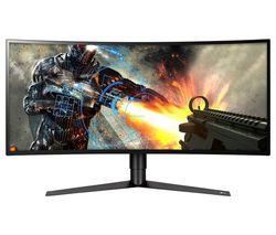 "LG 34GK950F Quad HD 34"" Curved Nano IPS LCD Gaming Monitor - Black"
