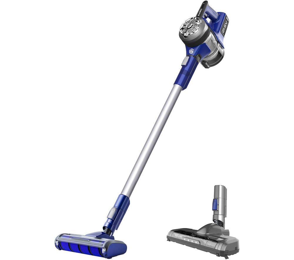 Image of PowerPlush Turbo SC15822N Cordless Vacuum Cleaner - Purple & Grey, Purple