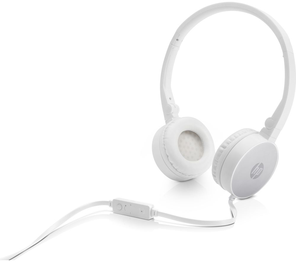 HP H2800 Stereo Headset - Silver