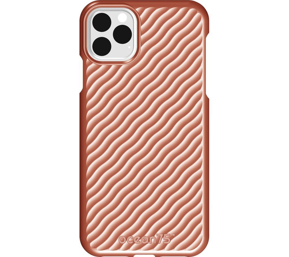 OCEAN75 Ocean Wave iPhone 11 Pro Max Case - Coral