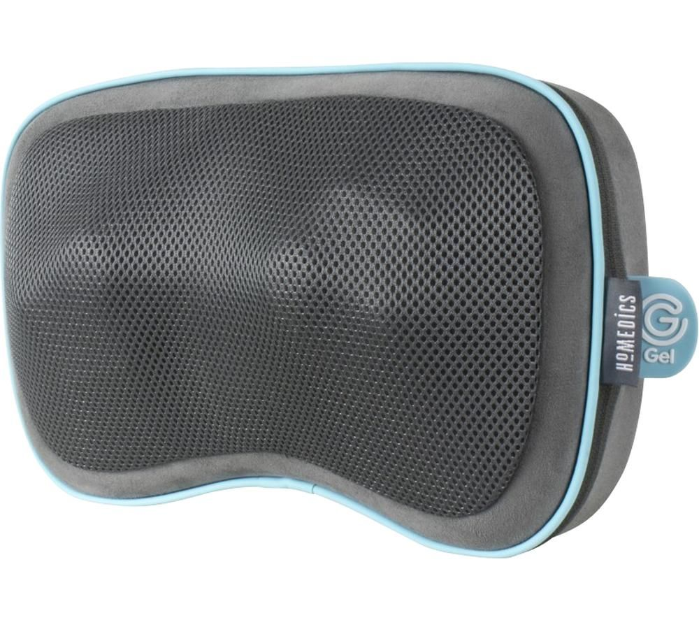 HOMEDICS GST-550HRC-GB Gel Shiatsu Pillow - Grey