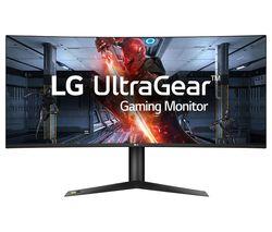 "LG UltraGear 38GL950G-B Quad HD 38"" Curved Nano IPS LCD Gaming Monitor - Black"