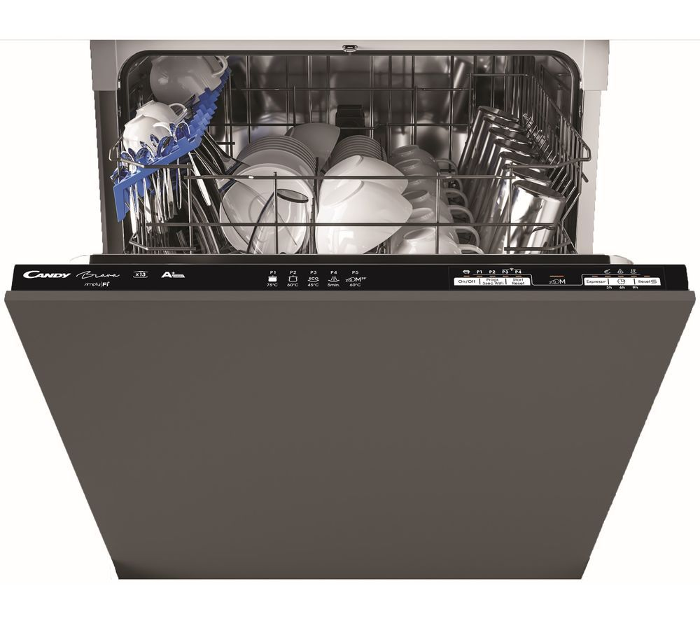 Image of CANDY CB13L38B 80 Full-size Fully Integrated WiFi-enabled NFC Dishwasher