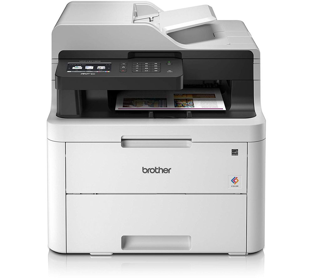 BROTHER MFCL3710CW All-in-One Laser Printer with Fax