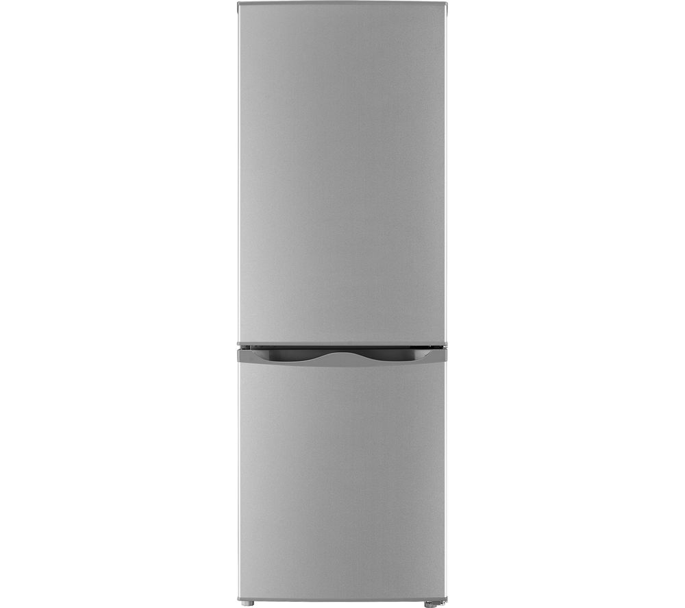 ESSENTIALS C50BS20 60/40 Fridge Freezer - Silver, Silver