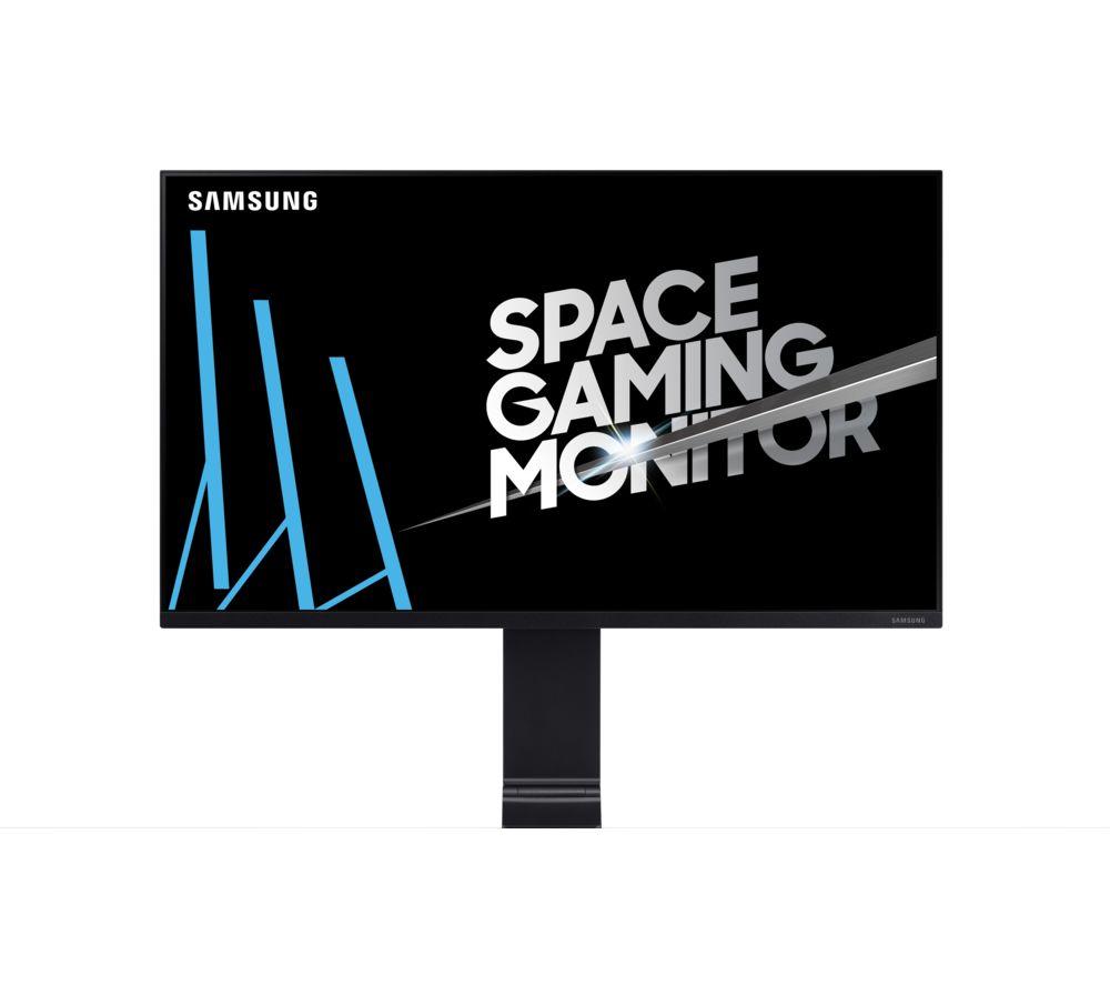 "SAMSUNG Space Quad HD 32"" LED Monitor - Black"