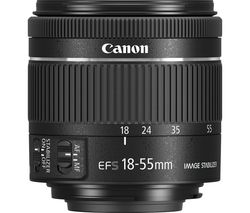 EF-S 18-55 mm f/4-5.6 IS STM Standard Zoom Lens