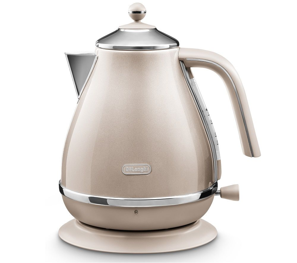 DELONGHI Icona Metallics KBOT3001.BG Jug Kettle - Gold