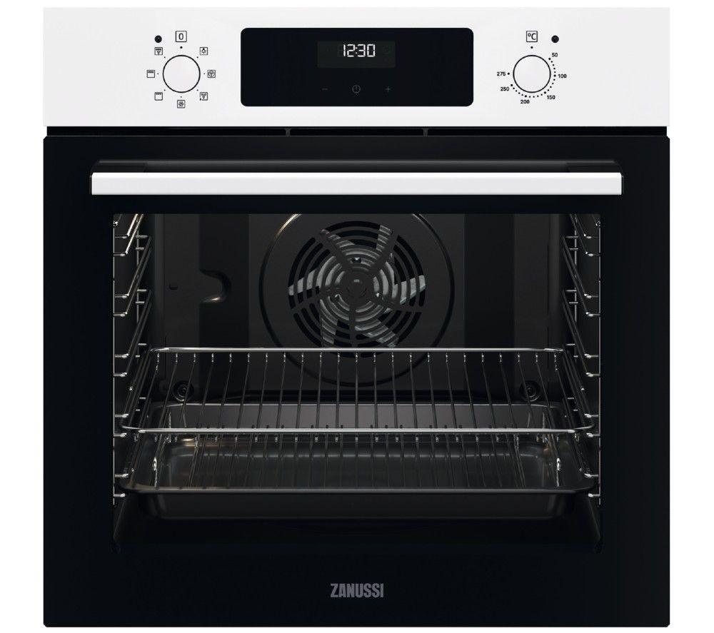 ZANUSSI FanCook ZOHCX3W2 Electric Oven - White, White