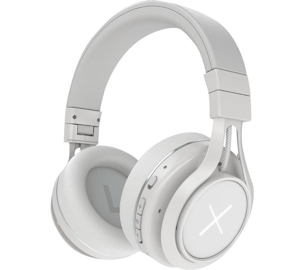KYGO Xenon 69099-10 Wireless Bluetooth Noise-Cancelling Headphones - White