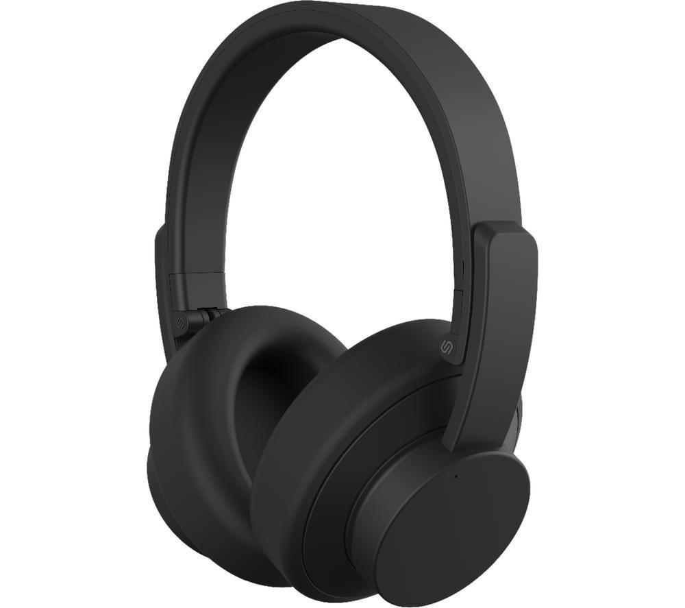 URBANISTA New York Wireless Bluetooth Noise-Cancelling Headphones - Black