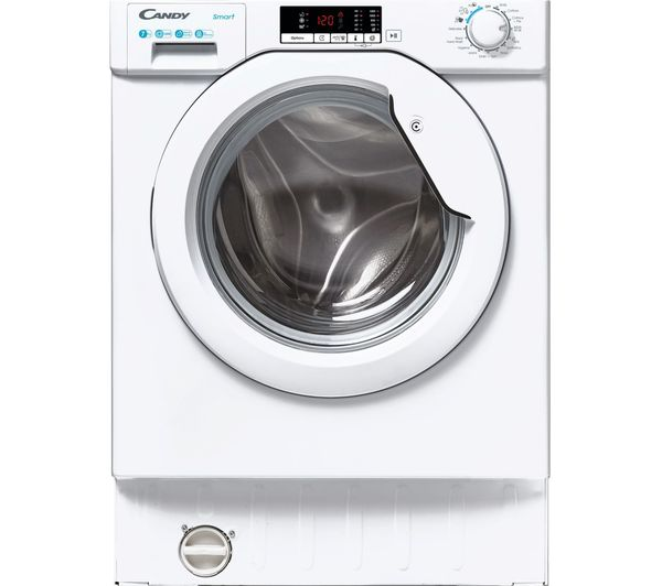 Image of CANDY CBW 47D2E Integrated 7 kg 1400 Spin Washing Machine - White