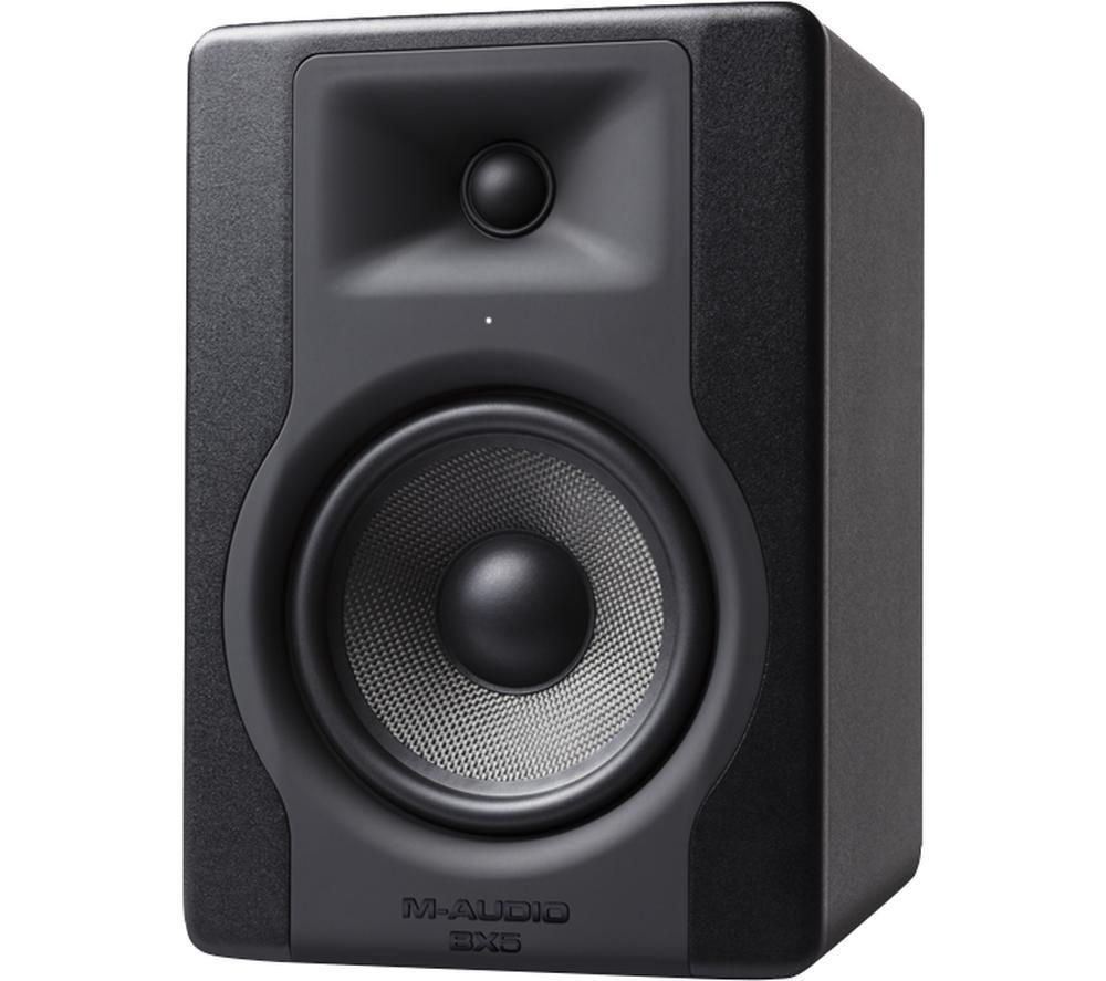 M-AUDIO BX5 D3 Powered Studio Monitor - Black