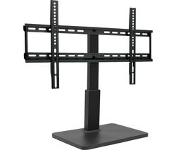 TS 8060 690 mm Swivel TV Stand with Bracket - Black