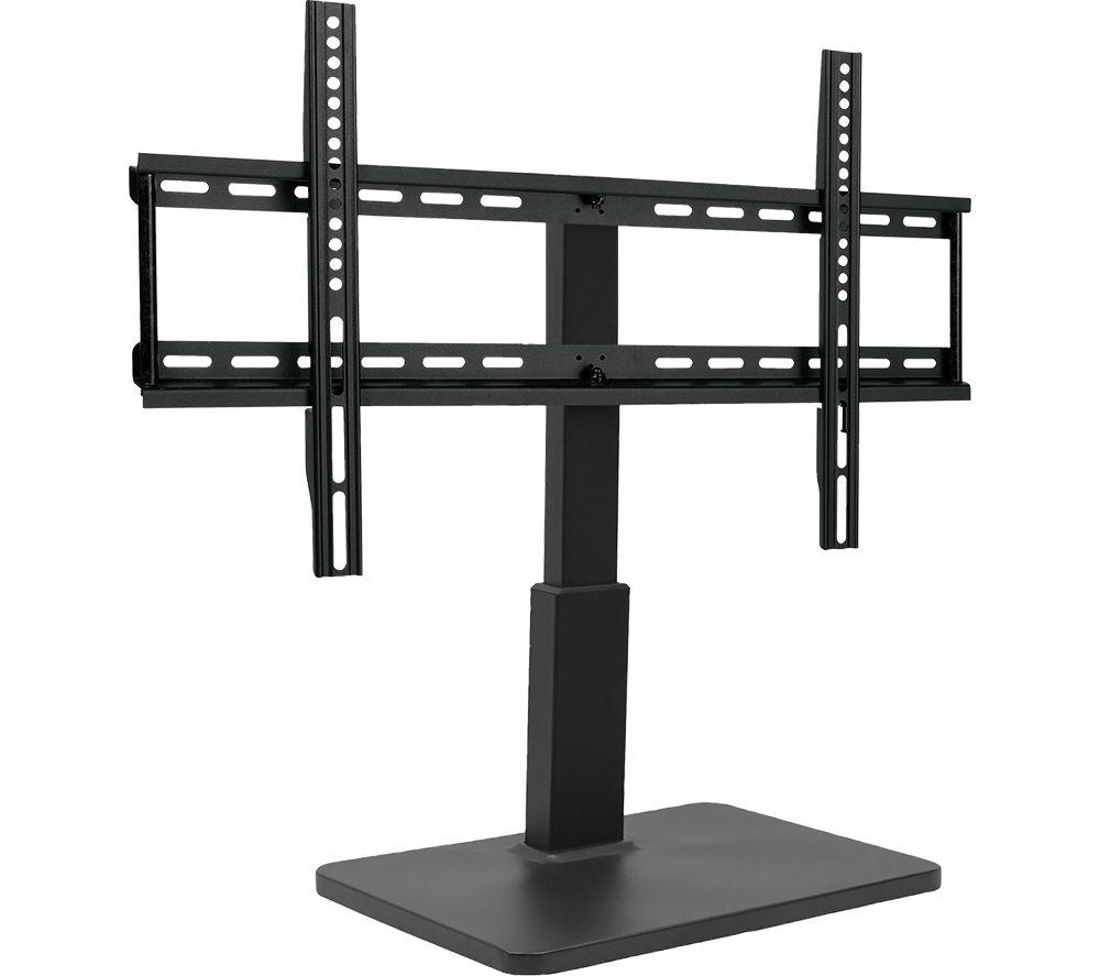TITAN TS 8060 690 mm Swivel TV Stand with Bracket - Black, Black