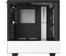 H510 ATX Mid-Tower PC Case - White