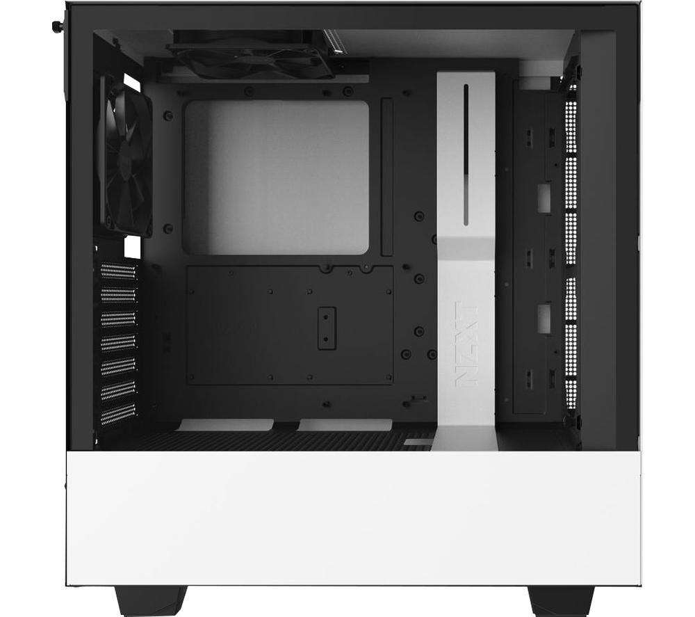 Image of NZXT H510 ATX Mid-Tower PC Case - White, White