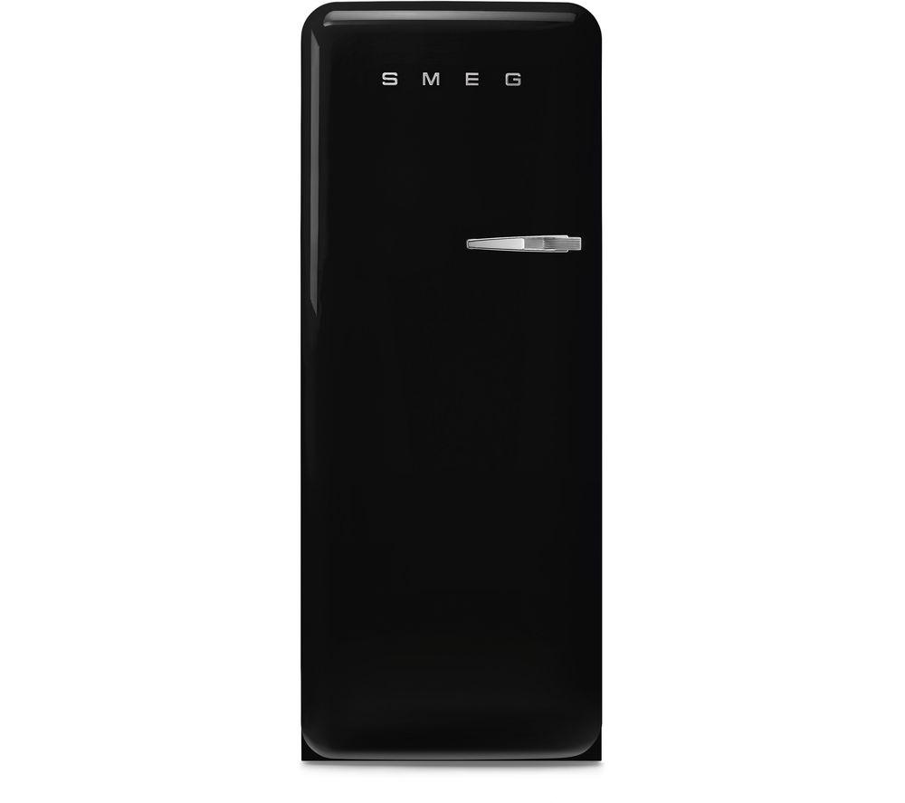 SMEG FAB28LBL5UK Tall Fridge – Black, Black