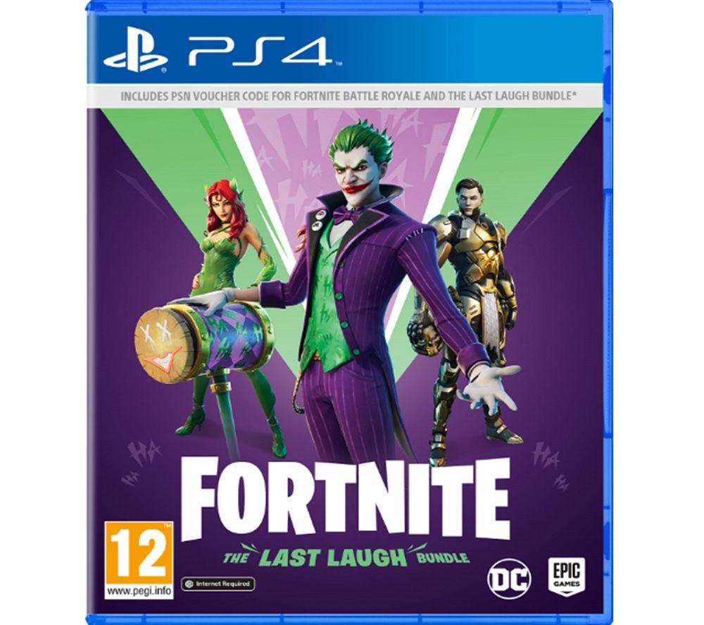 PLAYSTATION Fortnite: The Last Laugh Bundle