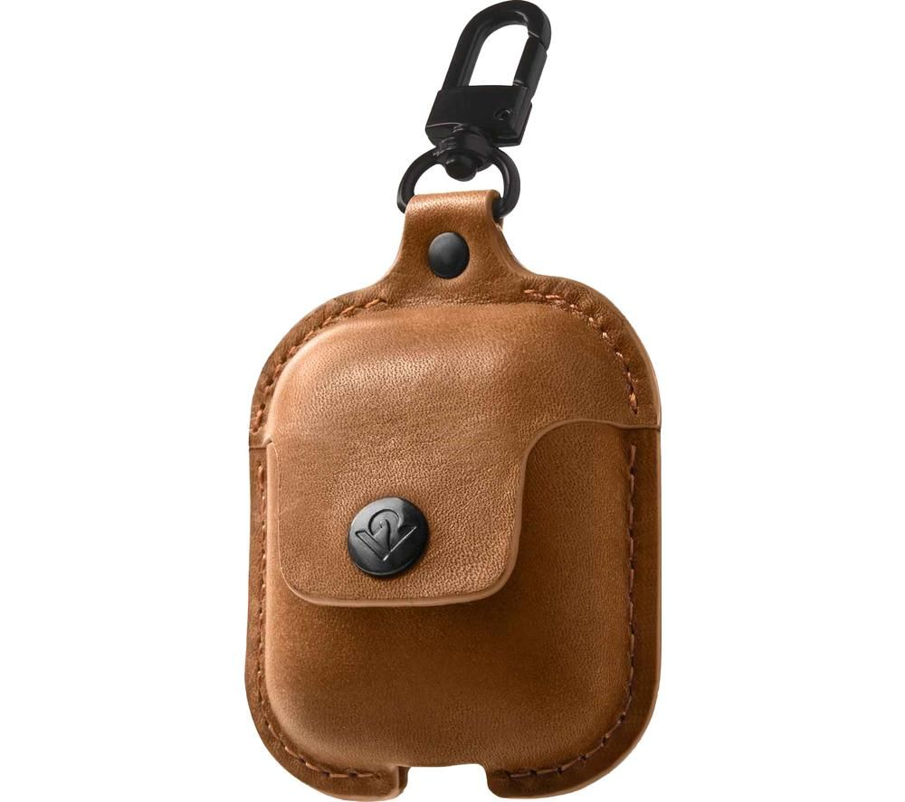 TWELVE SOUTH AirSnap AirPod Leather Case Cover - Brown