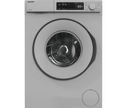 ES-NFB8141SD 8 kg 1400 Spin Washing Machine - Silver